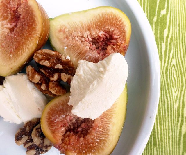 Figs & Goat Cheese