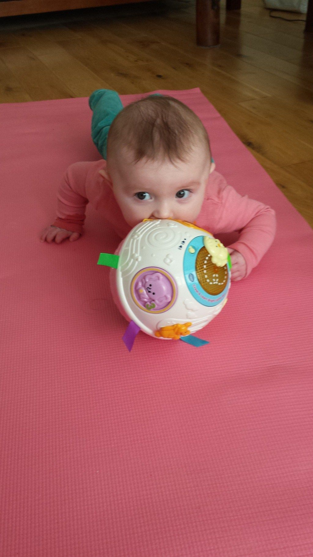Vtech Crawl Learn Ball Best Toy For 6 Month Old Best Online Toy Shop Crawling Baby Toys Crawling Baby Cool Gifts For Kids