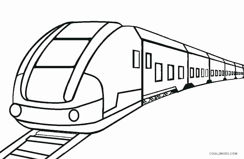 Train Track Coloring Pages Unique Track Coloring Pages Hallucina