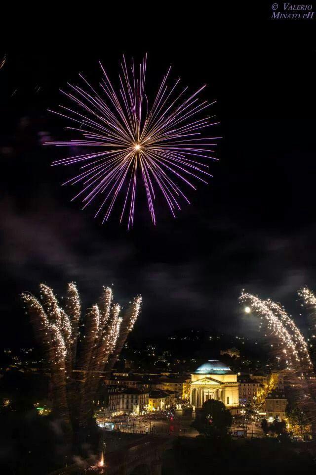 Fuochi d'artificio -24/06 - San Giovanni - Torino