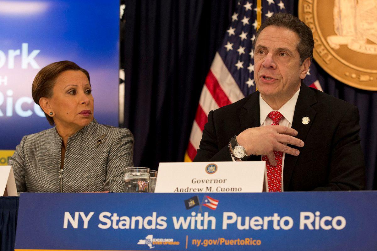 Gov Andrew Cuomo To Spend Thanksgiving In Puerto Rico Puerto Rico Puerto Governor