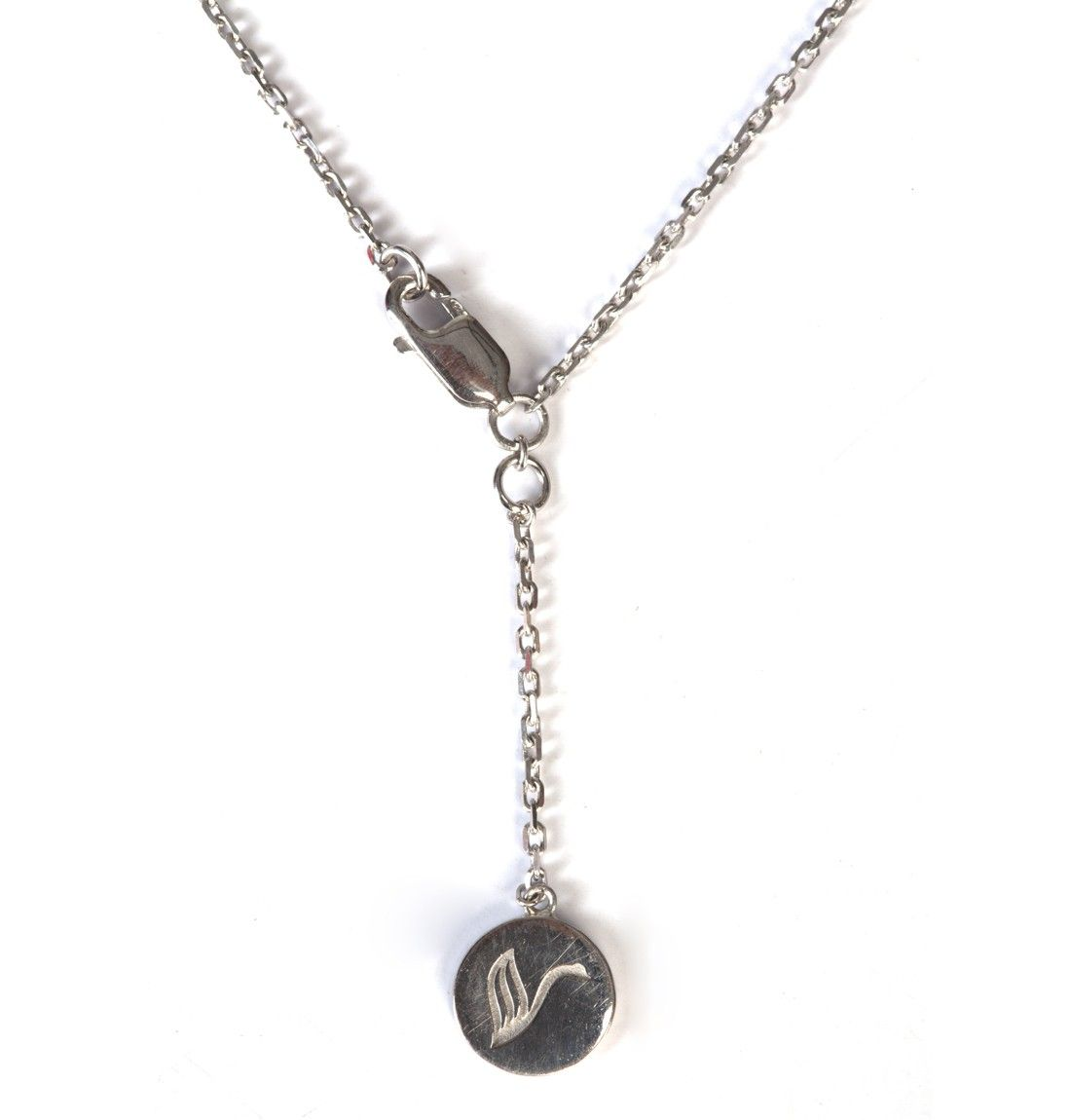 A girl's Best Friend - Marilyn Silver Necklace