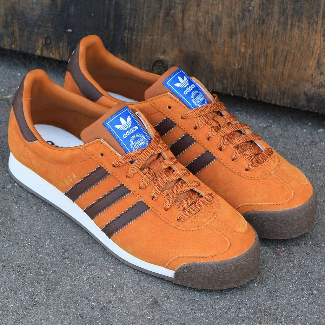 6c46705a8 Adidas Men Samoa Vintage (brown / craft ochre / auburn / off white ...