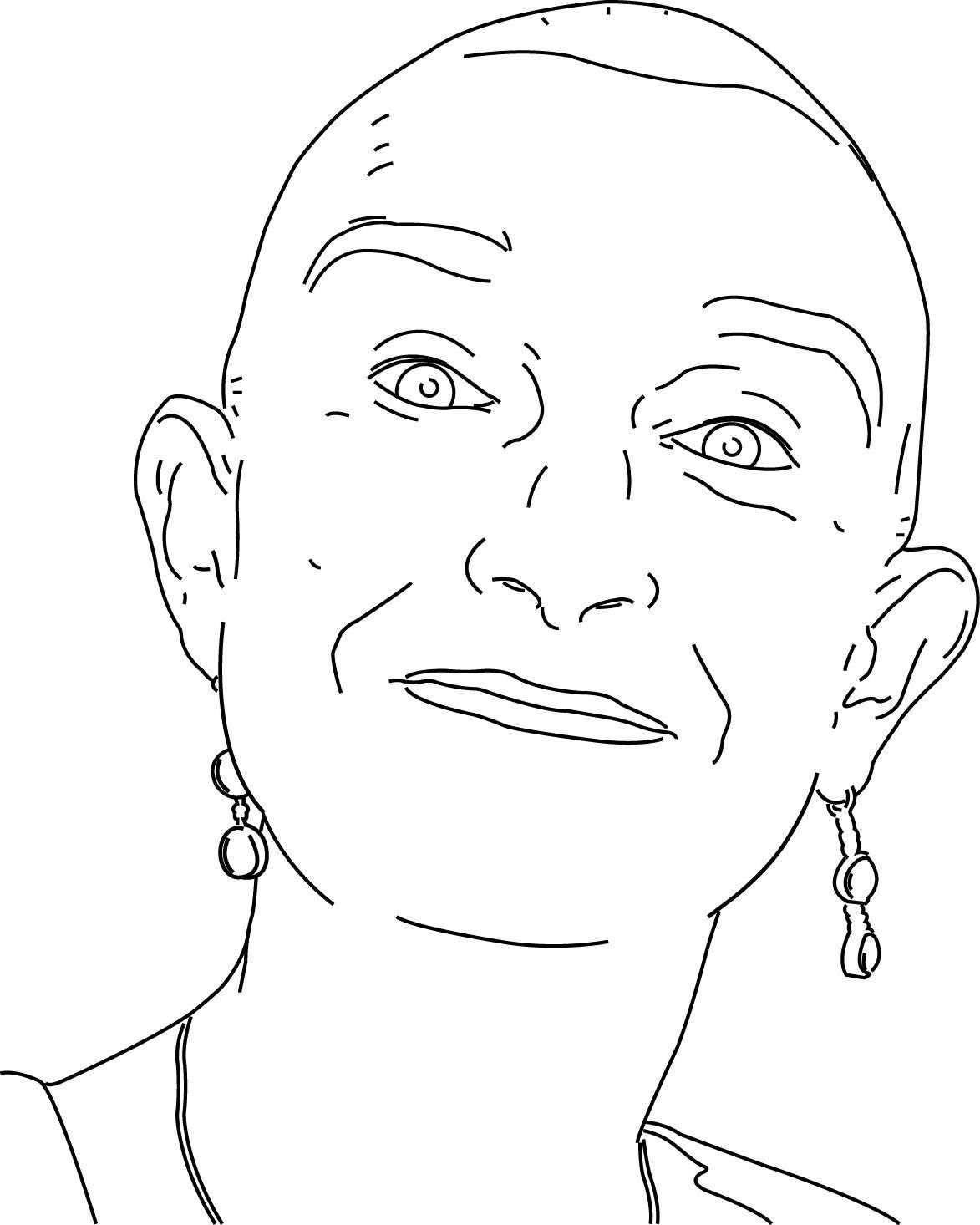 Bekijk de portret animatie van Lucienne van Dam. Lucienne doet mee met de Kunst Kalender 2014.