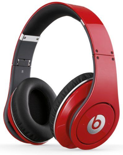 Beats Studio Over Ear Headphone (Red) (Discontinued by