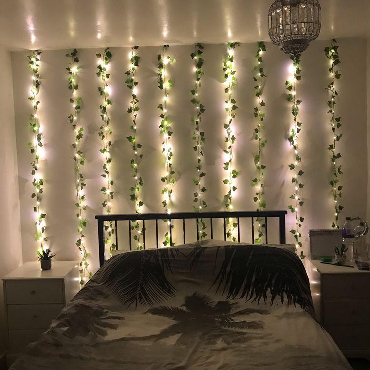 Led Wall Vine Lights Bedroom Decor Design Redecorate Bedroom Room Inspiration Bedroom Simple room wall decorative lights