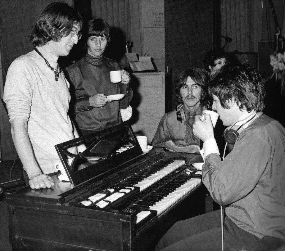 White Album Sessions 4 June 1968 Photo C Beatles Book Photo Library The Beatles The White Album Beatles Pictures