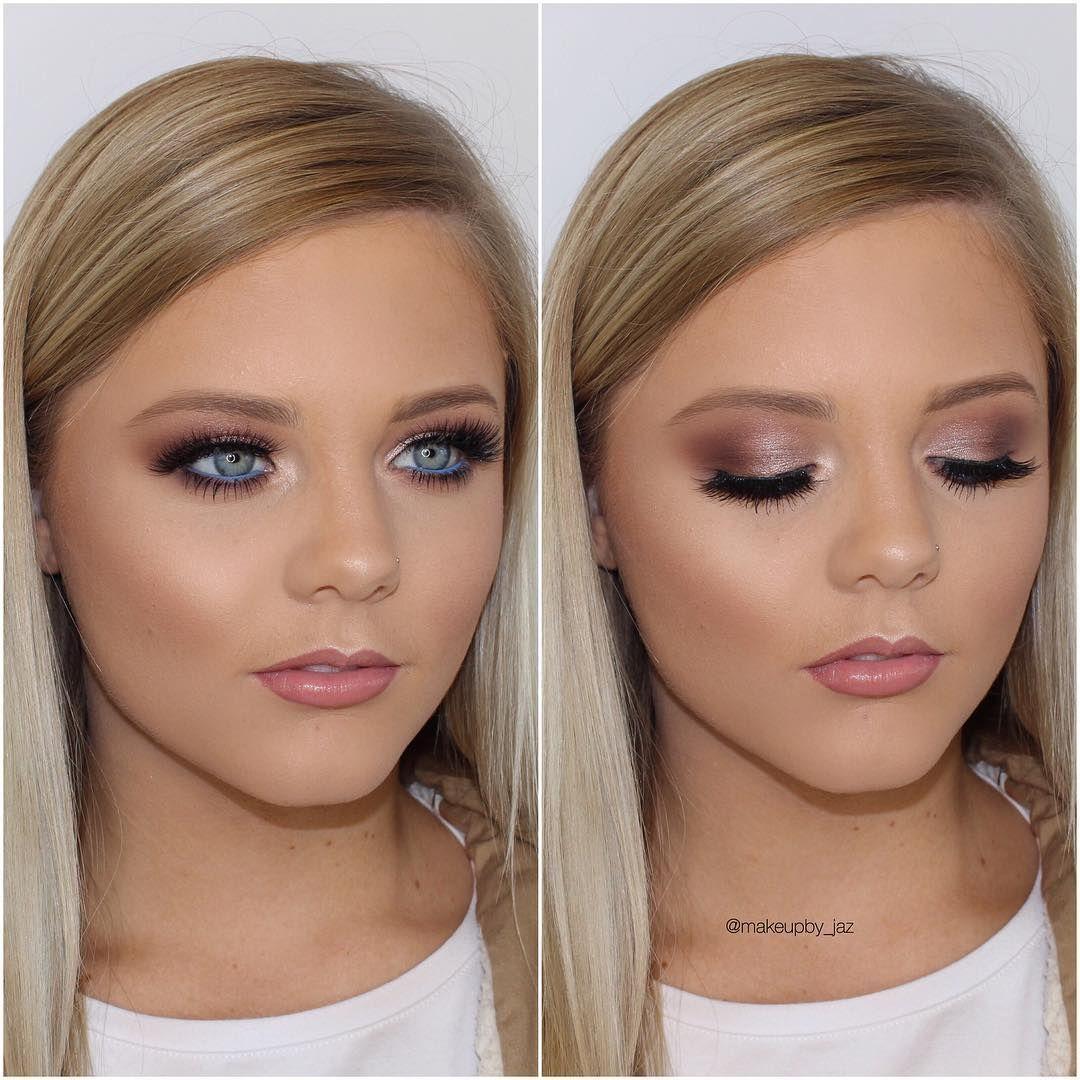 EyeMakeupDaytime  Bridal makeup for fair skin, Fair skin makeup