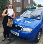 Congratulations to Sarah Kramer of Gillingham Kent, who passed her Practical driving test first time on Friday 24th July.  Sarah passed her driving test at the Gillingham driving test centre. Sarah is a 1st time mum so getting her new family around will now be so much easier :-@) Sarah I hope to see you driving around Gillingham very soon.  Well done Sarah this should really make a massive difference to you , and give you that all important independence.  All the best for the future from…