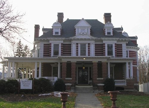 Dupont Funeral Home Bristol Ct House Huge Houses American Colonial Architecture