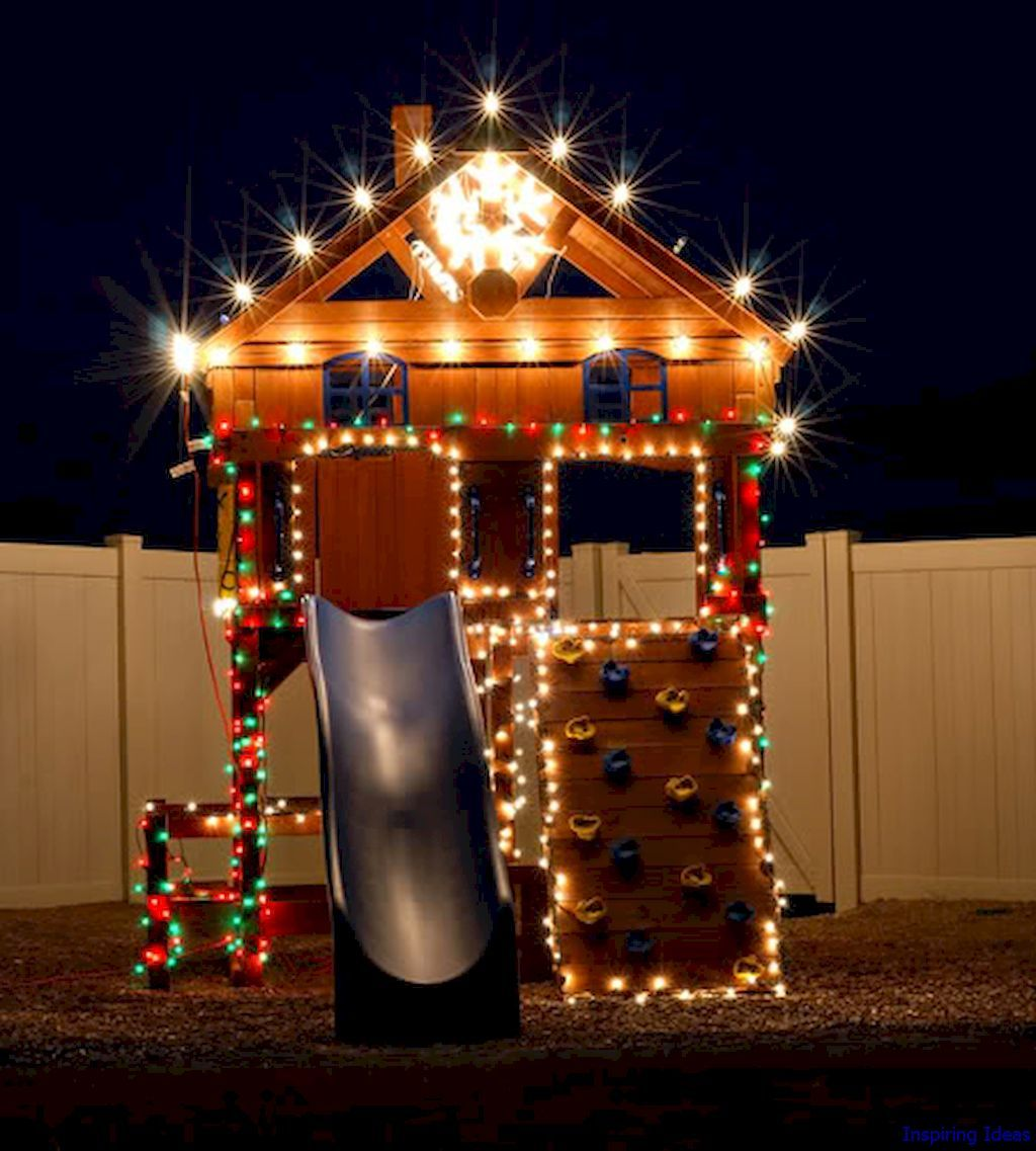 60 Awesome Christmas Lights Outdoor Ideas