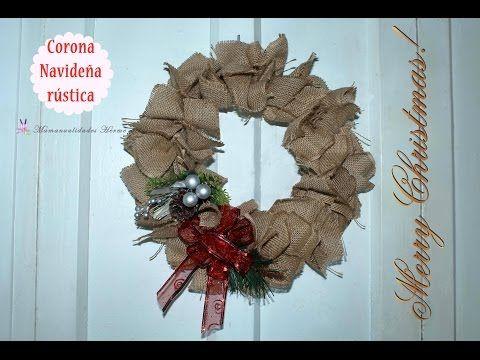 C 243 Mo Hacer Flores De Arpillera De Yute Flores De Tela De