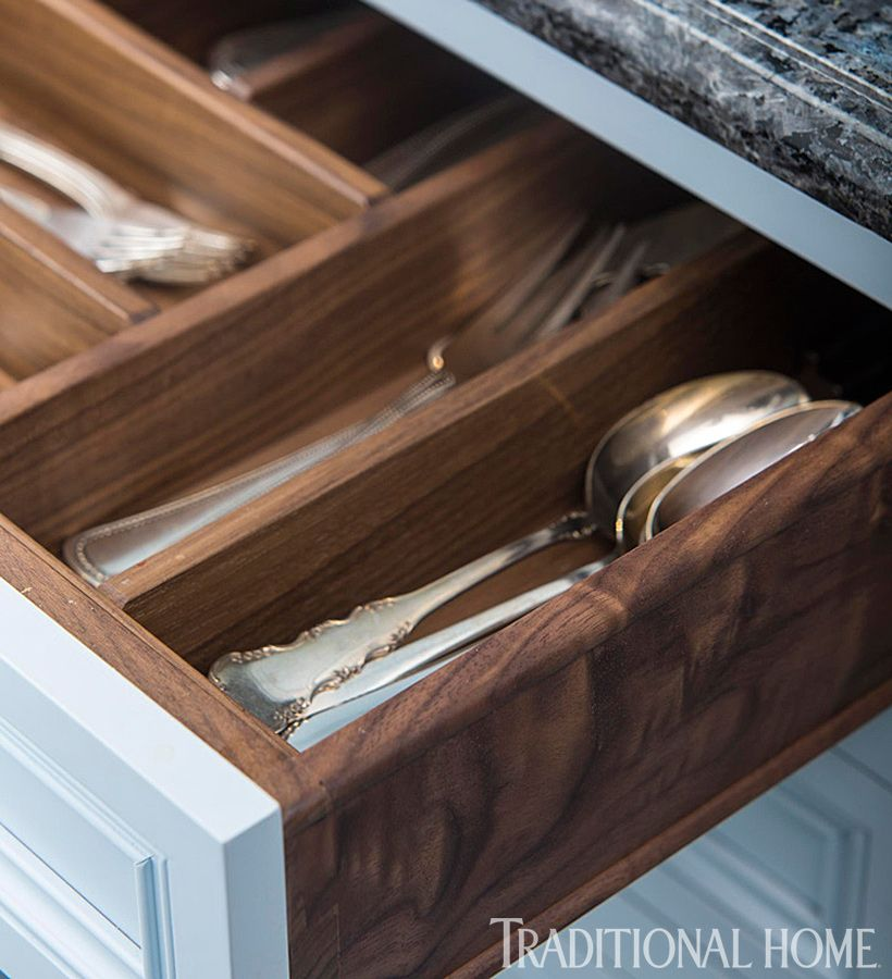 Rutt Handcrafted Cabinets Through Bilotta Kitchens Of New York. Walnut Drawer  Boxes Are Built With Dovetail Joints.