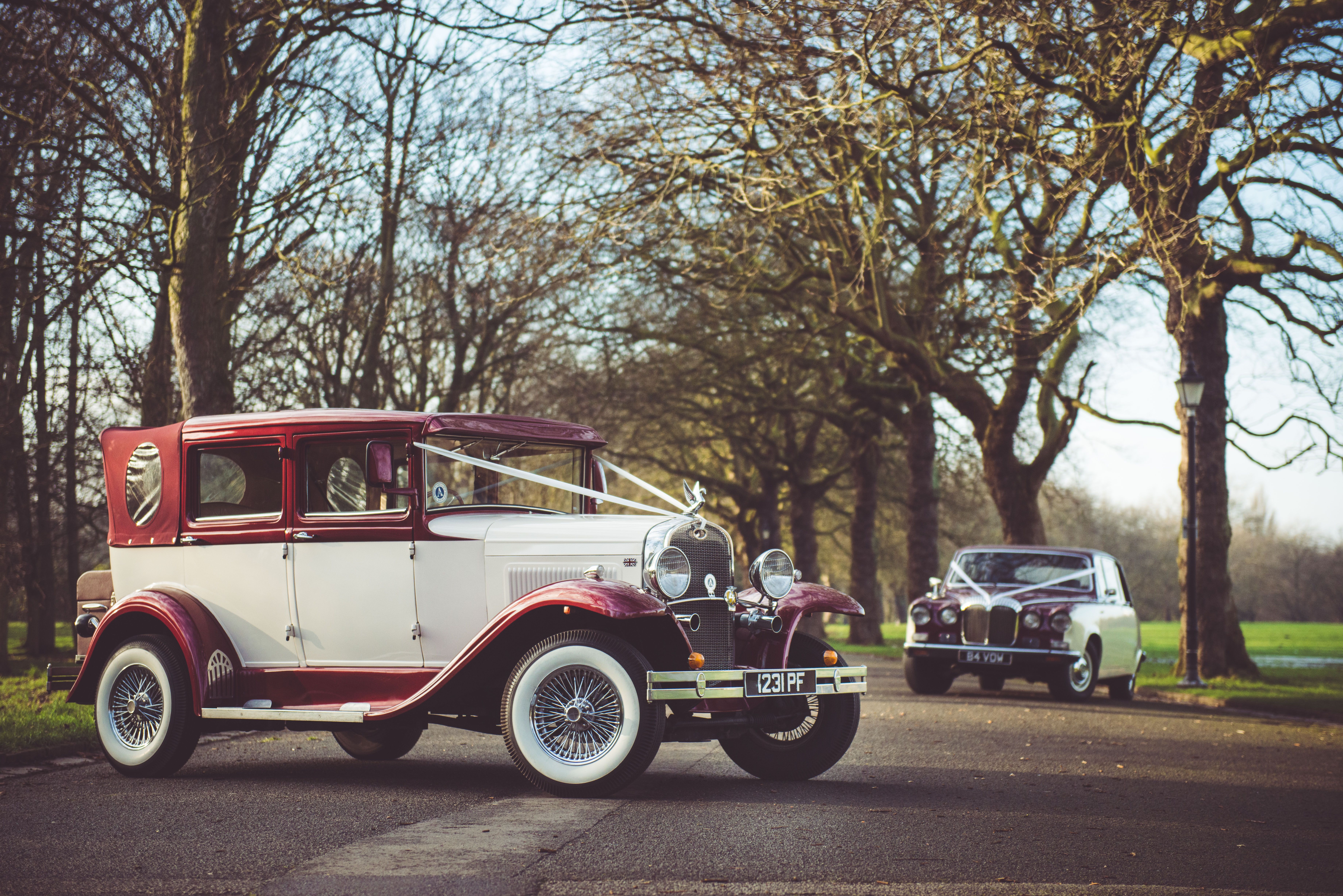 Our Matching Coloured Badsworth Daimler Wedding Car Wedding Car Hire Car Hire