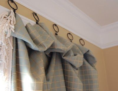 Don T Want To Buy Another Curtain Rod Hooks Or Nails At The