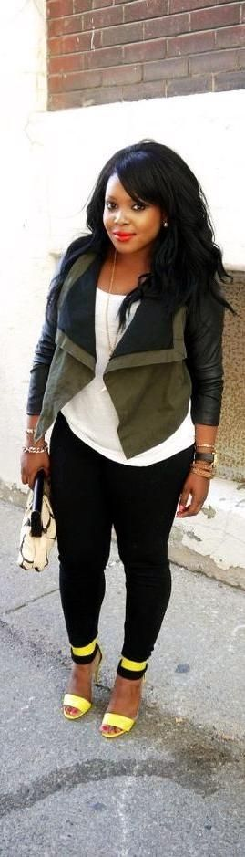 cardigan white blouse hand bag high heel shoes with denim pants