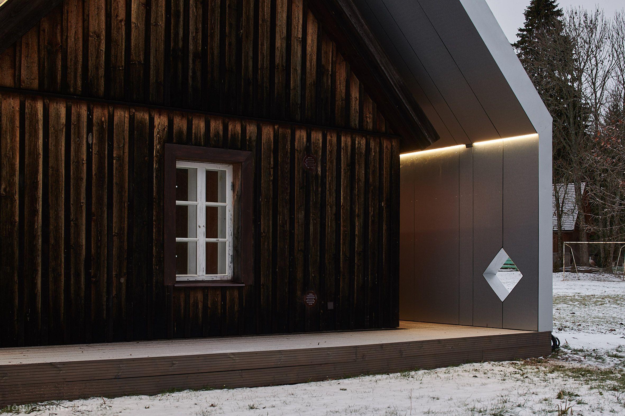 Sauna In Varbol By Peeter Pere And Eva Kedelauk Metal Roof Glass Building Pavilion Design