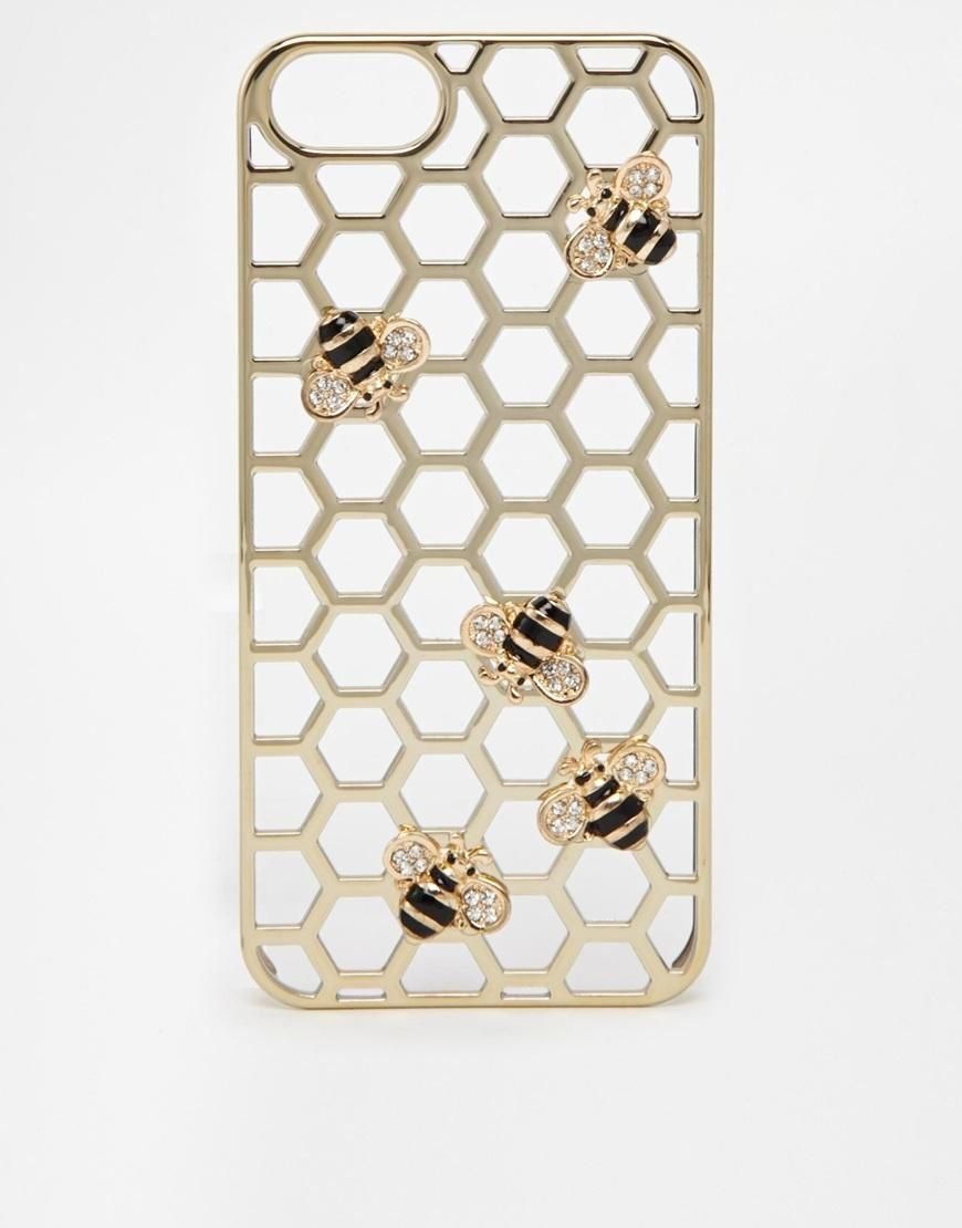new product 266a1 87874 Skinny Dip | Skinny Dip Bumble Bee iPhone 5 Case at ASOS ...