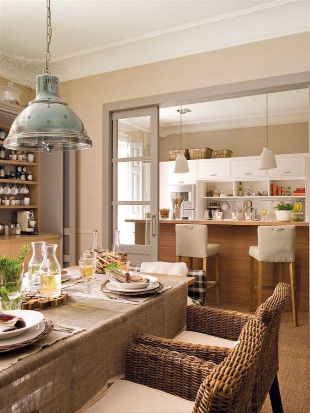 una-cocina-rustica-y-acogedora | decoracion | Pinterest | Rusticas ...
