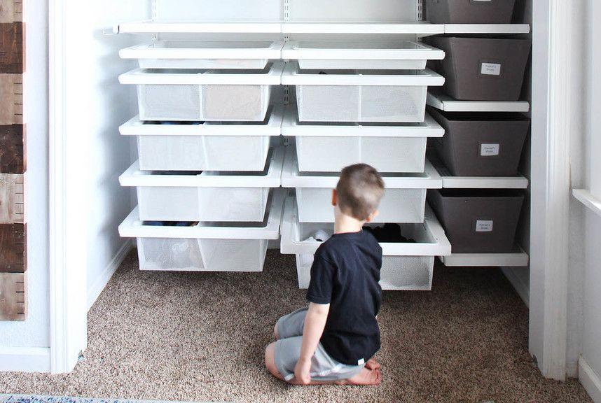 Kidu0027s Closet Overhauls! The ContainerContainer StoreCloset ...
