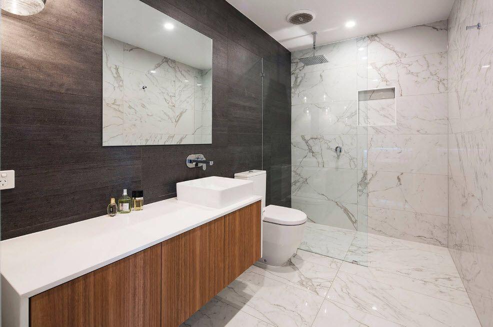 45 Beautiful Ideas To Upgrades Your Modern Bathroom