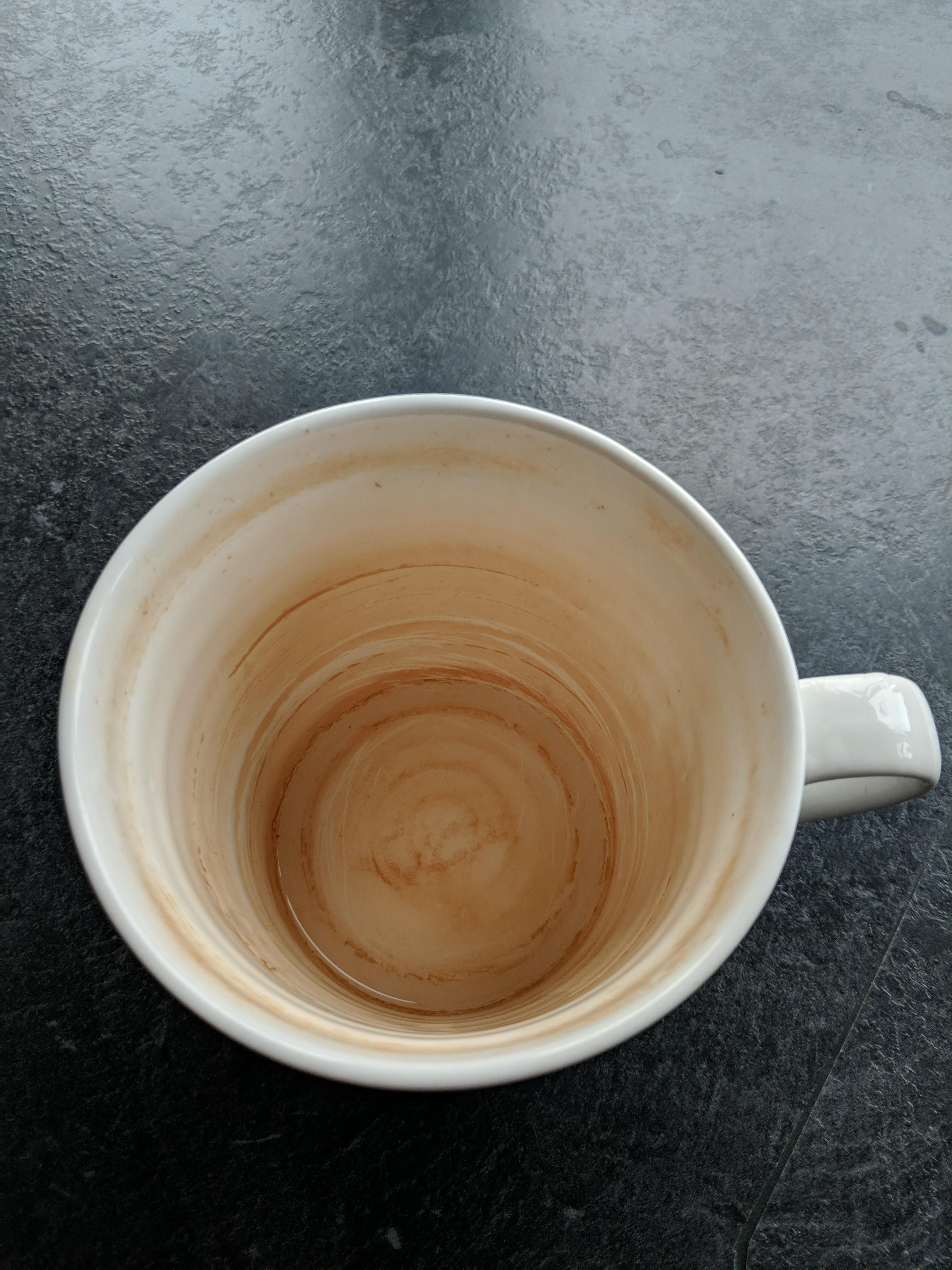 My stepson reads my Reddit posts  Your cup needs a clean! | Mildly