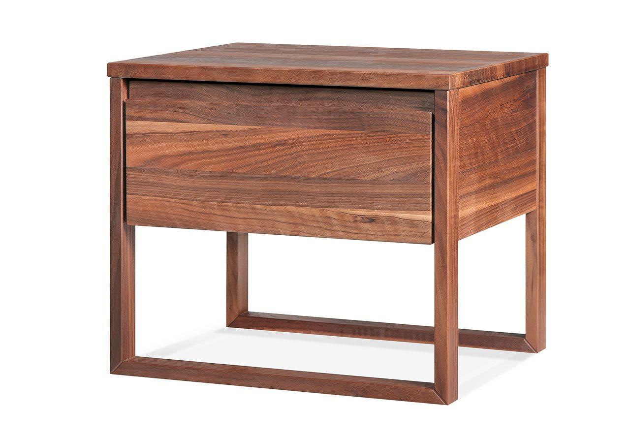 Tische Giulia Nachttisch Holz Geölt Natur Avandeo Möbel