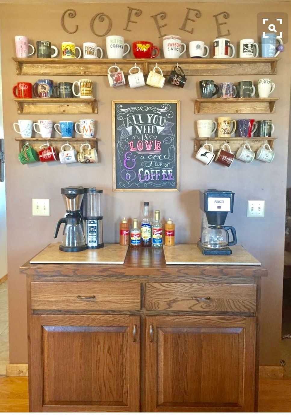 I see this in my future future abode pinterest coffee