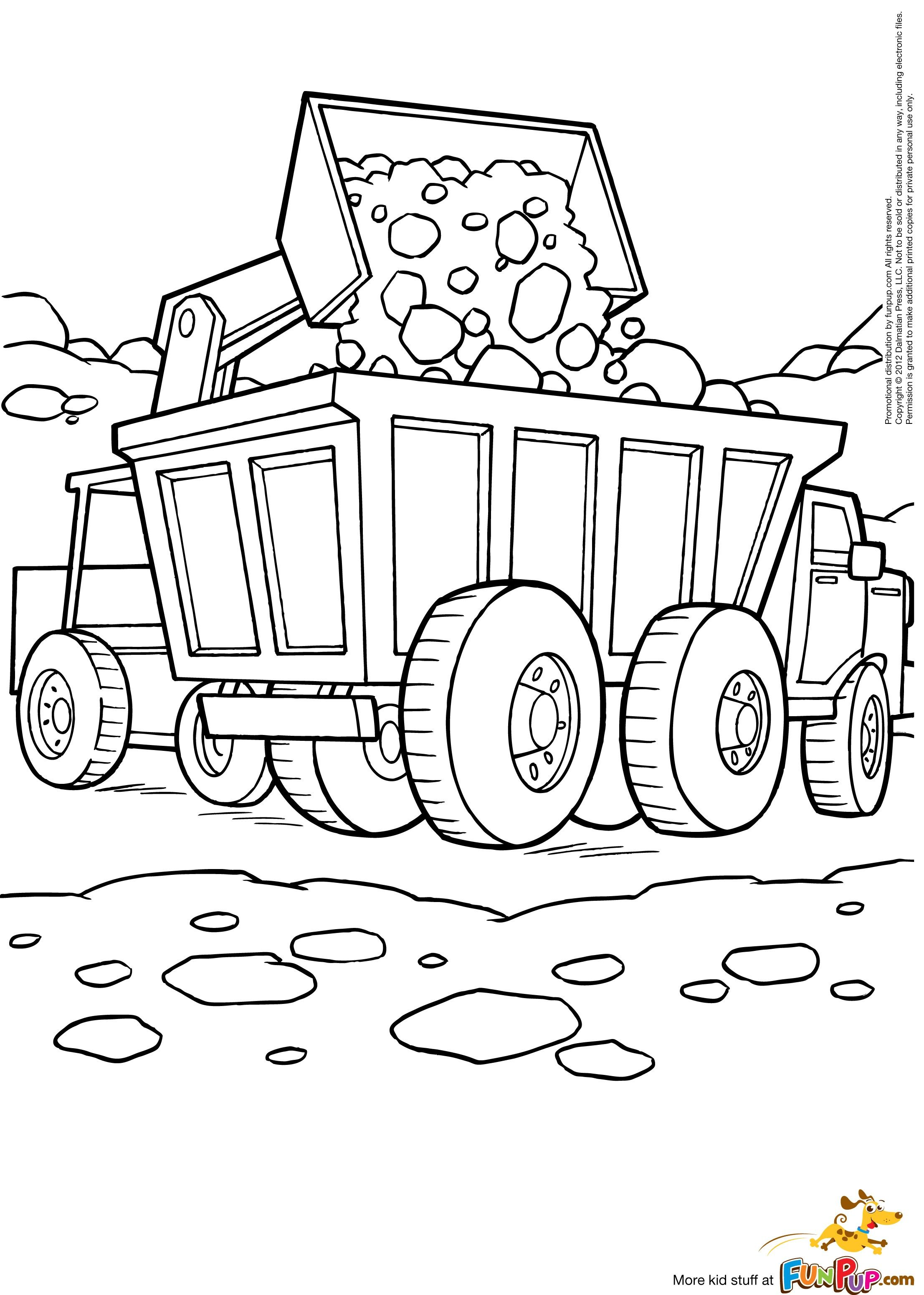 Excavator Coloring Pages Coloring Pages Truck Coloring Pages Bear Coloring Pages