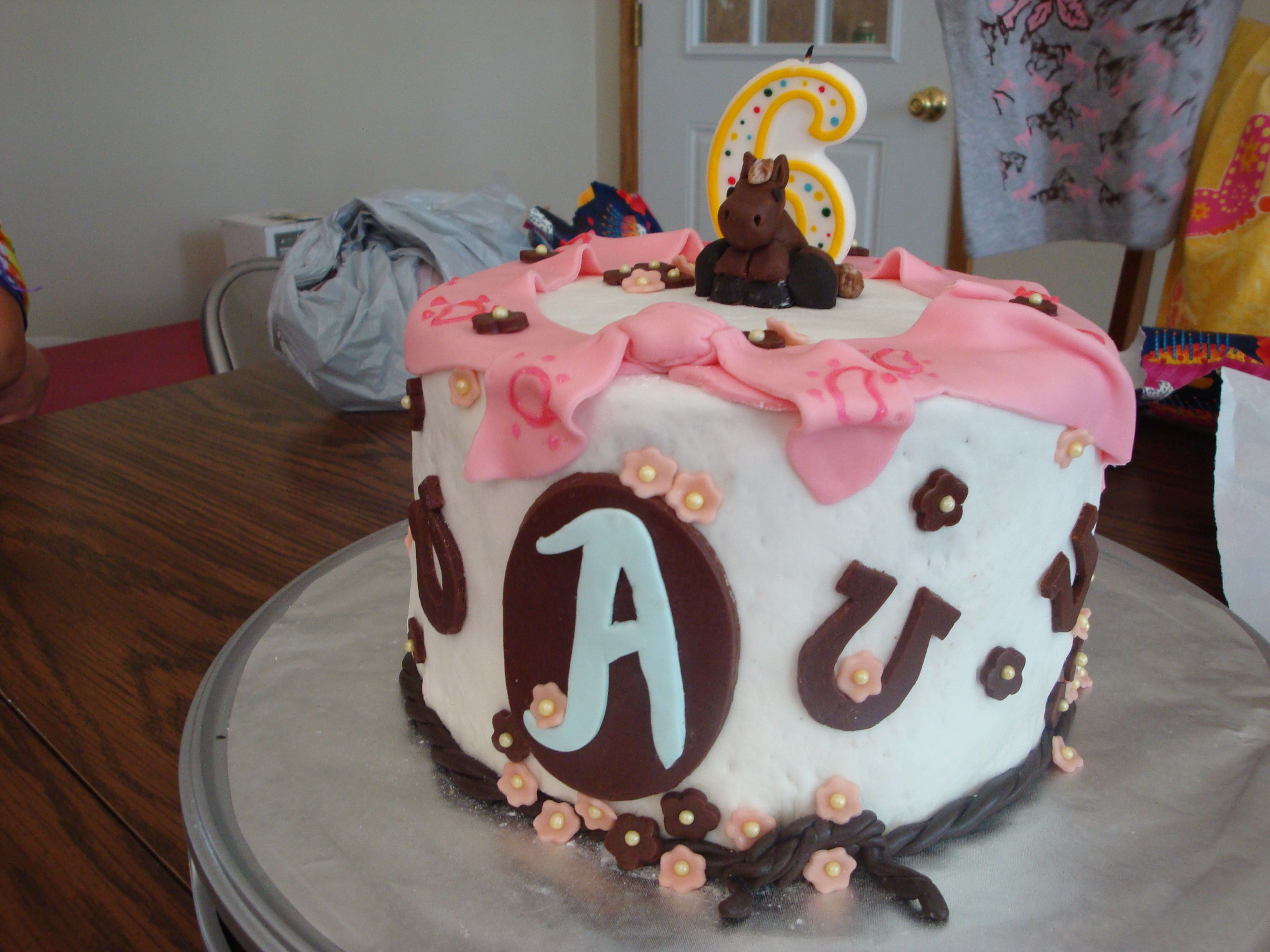 Birthday Cake For Little Sister ~ My little sister 6th birthday cake was made by for heaven's cakes