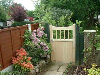 Garden Gates Bespoke Wooden Garden Gates Anderson Garden
