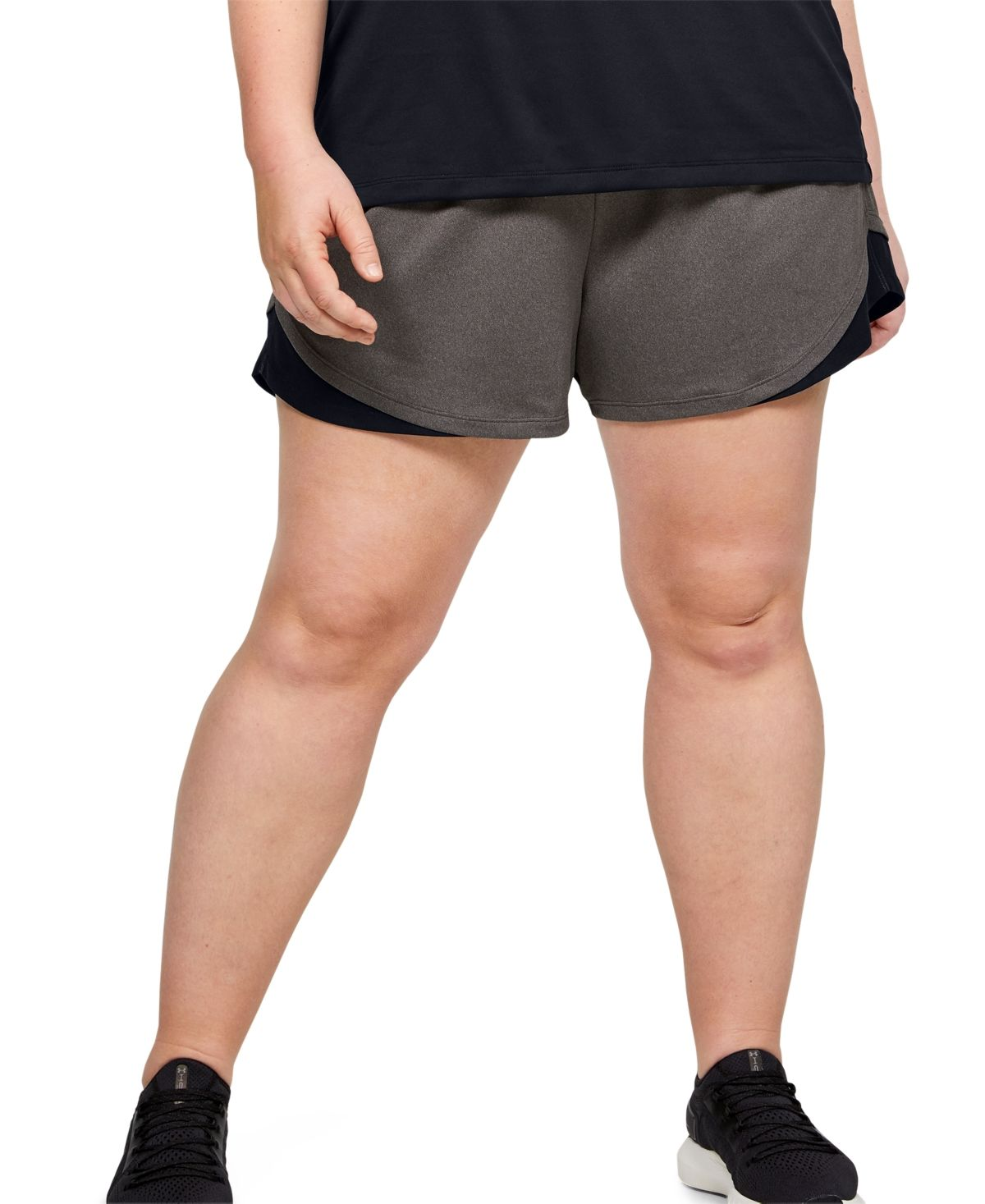Photo of Under Armour Plus Size Play Up Shorts 3.0 – Black/Blue