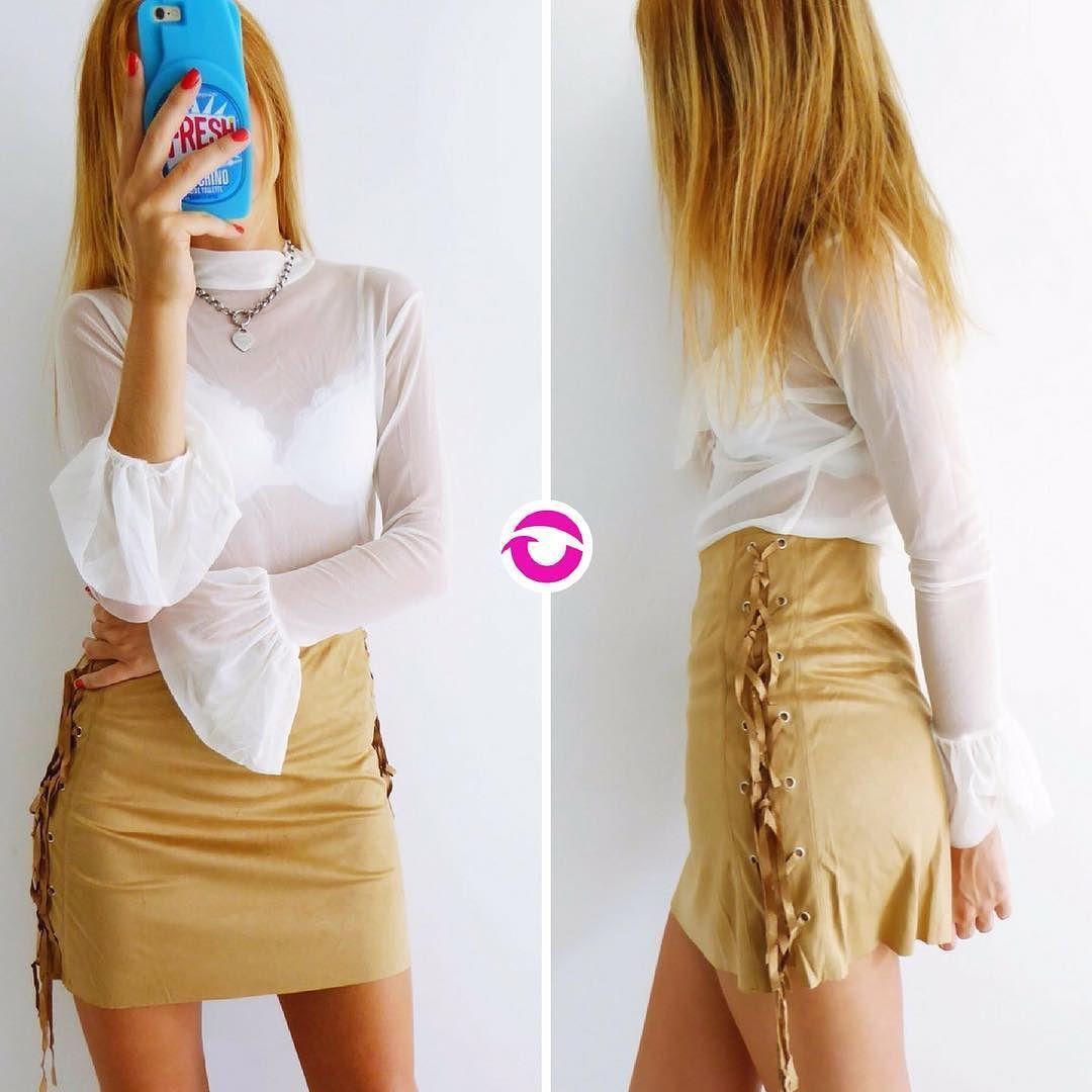 #FW17 REME DOLCE NATURAL $450 Microtul elastizada mangas con volado  colores  MINI GAMUZA CRUCES $470 Talle S y M elastizada flecos a los costados. Local Belgrano Envíos Efectivo y tarjetas Tienda Online www.oyuelito.com.ar #followme #oyuelitostore #stylish #styles #fashion #model #fashionista #fashionpost #ootd #moda #clothing #instafashion #trendy #chic #girl #trends #outfitoftheday #selfie #showroom #loveit #look #lookbook #inspirationoftheday #modafemenina
