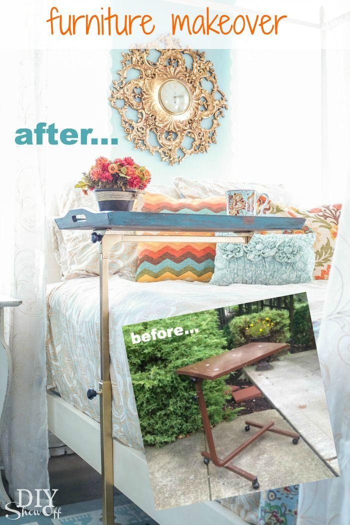 DIY Show Off Bedside table makeover, Furniture makeover
