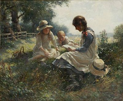 William Kay Blacklock Paintings William Kay Blacklock 1872 1922