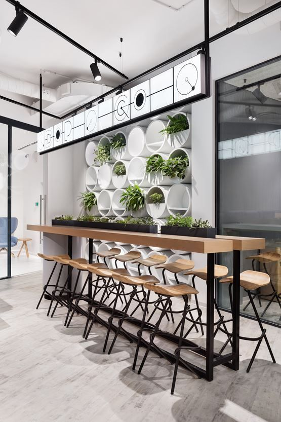 The Office for DPG Creative Communications Agency in Moscow, Russian Federation by T+T Architects