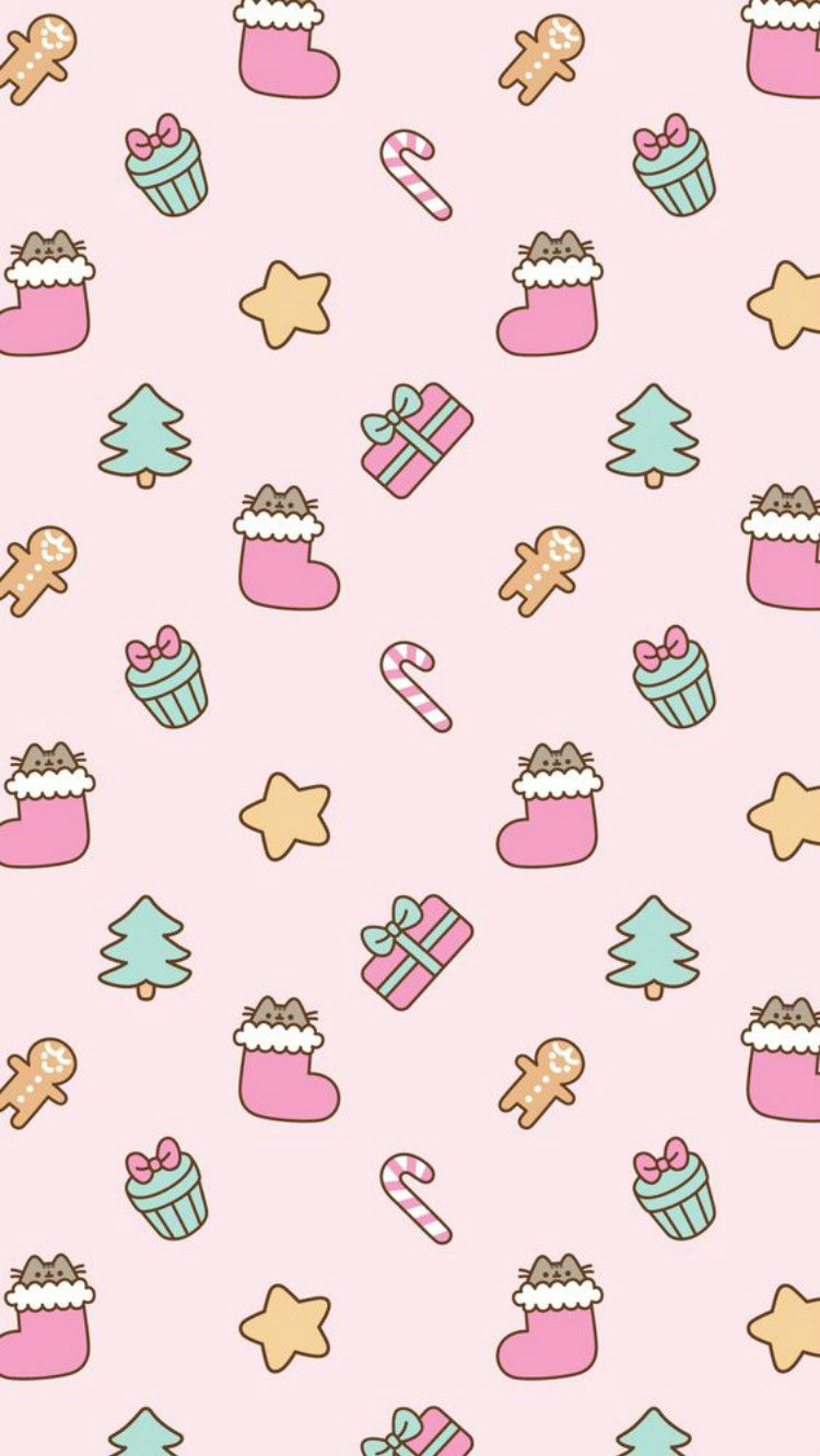 30 Gorgeous And Cute Christmas Wallpapers For Your IPhone | Women Fashion Lifestyle Blog Shinecoco.com