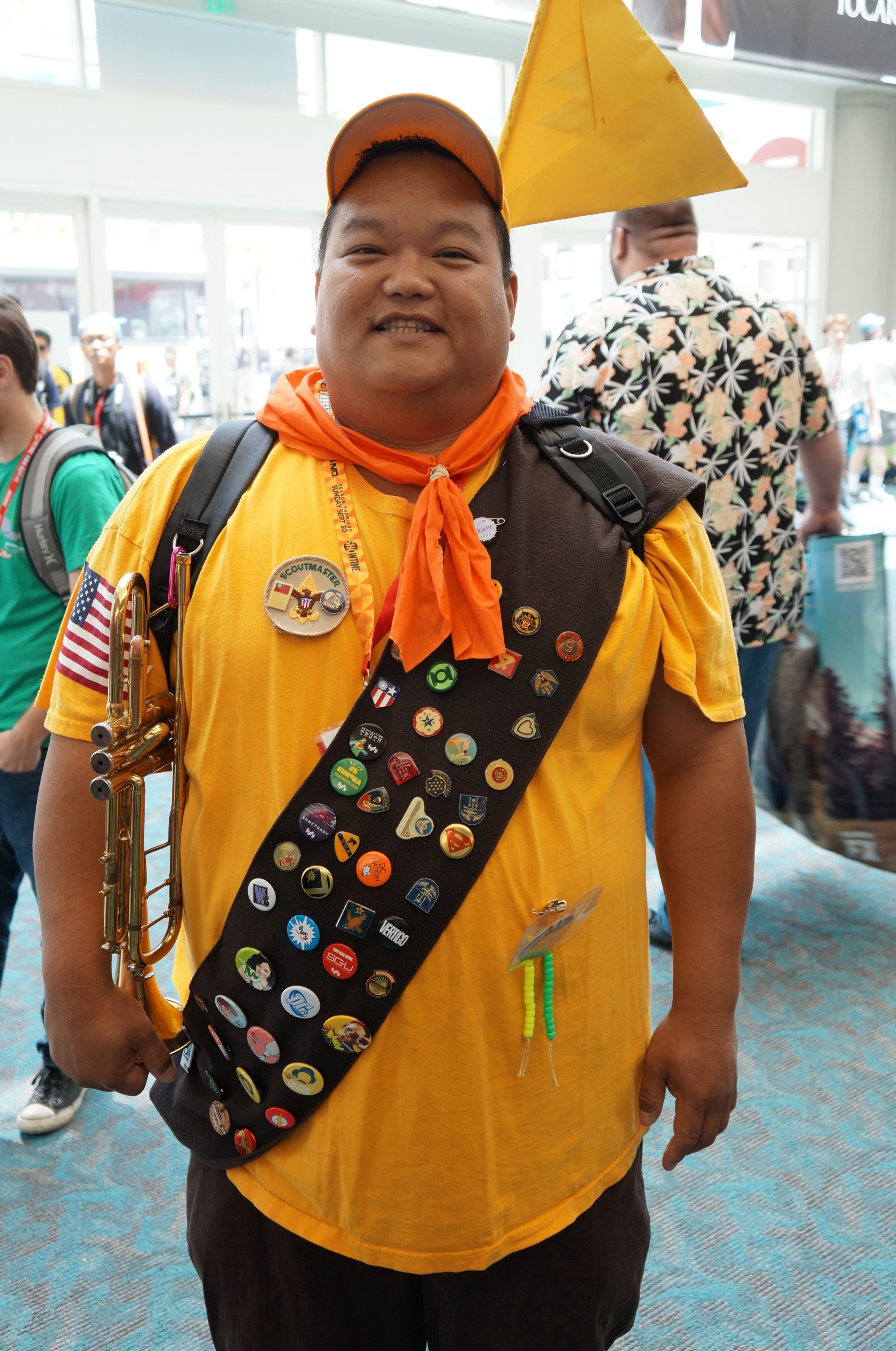 Russell Up Movie Great Cosplayer Costumes Cool