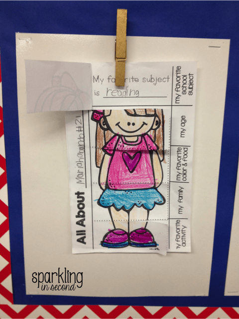 Back to school activities and ideas for the first and second grade classrooms!