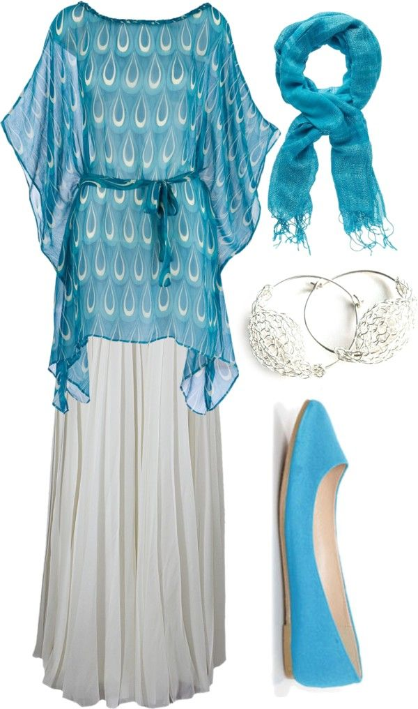 """Blueness"" by missrosevirginia ❤ liked on Polyvore"