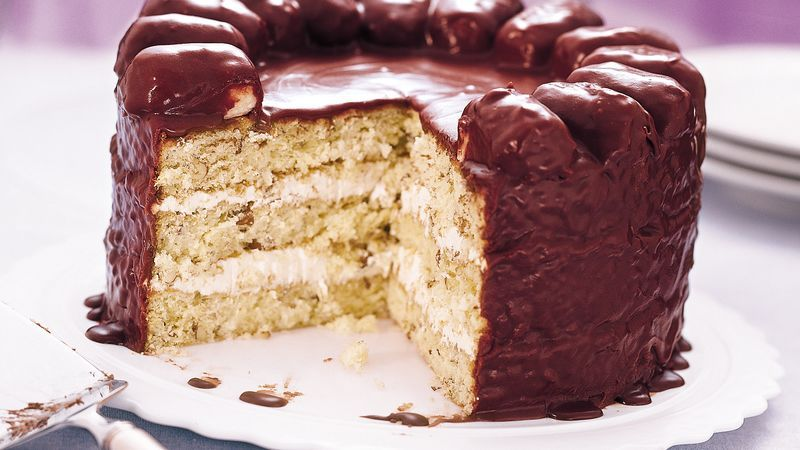 It's a candy bar.  No, it's a cake with candy bars, and it has mounds of richness!