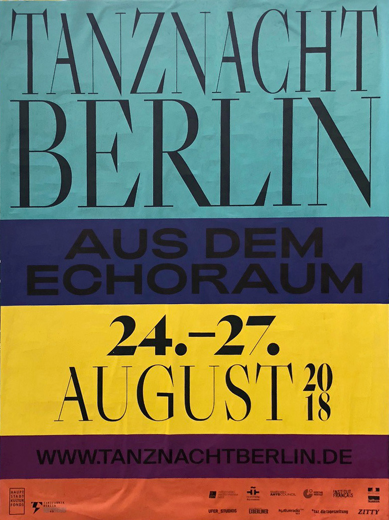 Favour Letter Words Typographic Poster Berlin Lettering