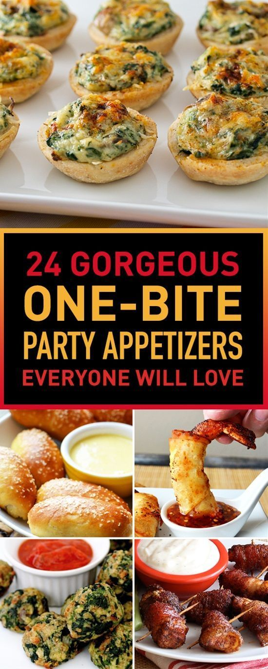 Cocktail Party Snacks Ideas Part - 21: 24 Gorgeous One-Bite Party Appetizers Everyone Will Love