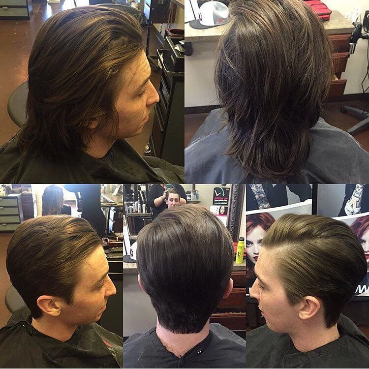 Before And After Mens Hair Transformation Done At Aurelio Salon Of