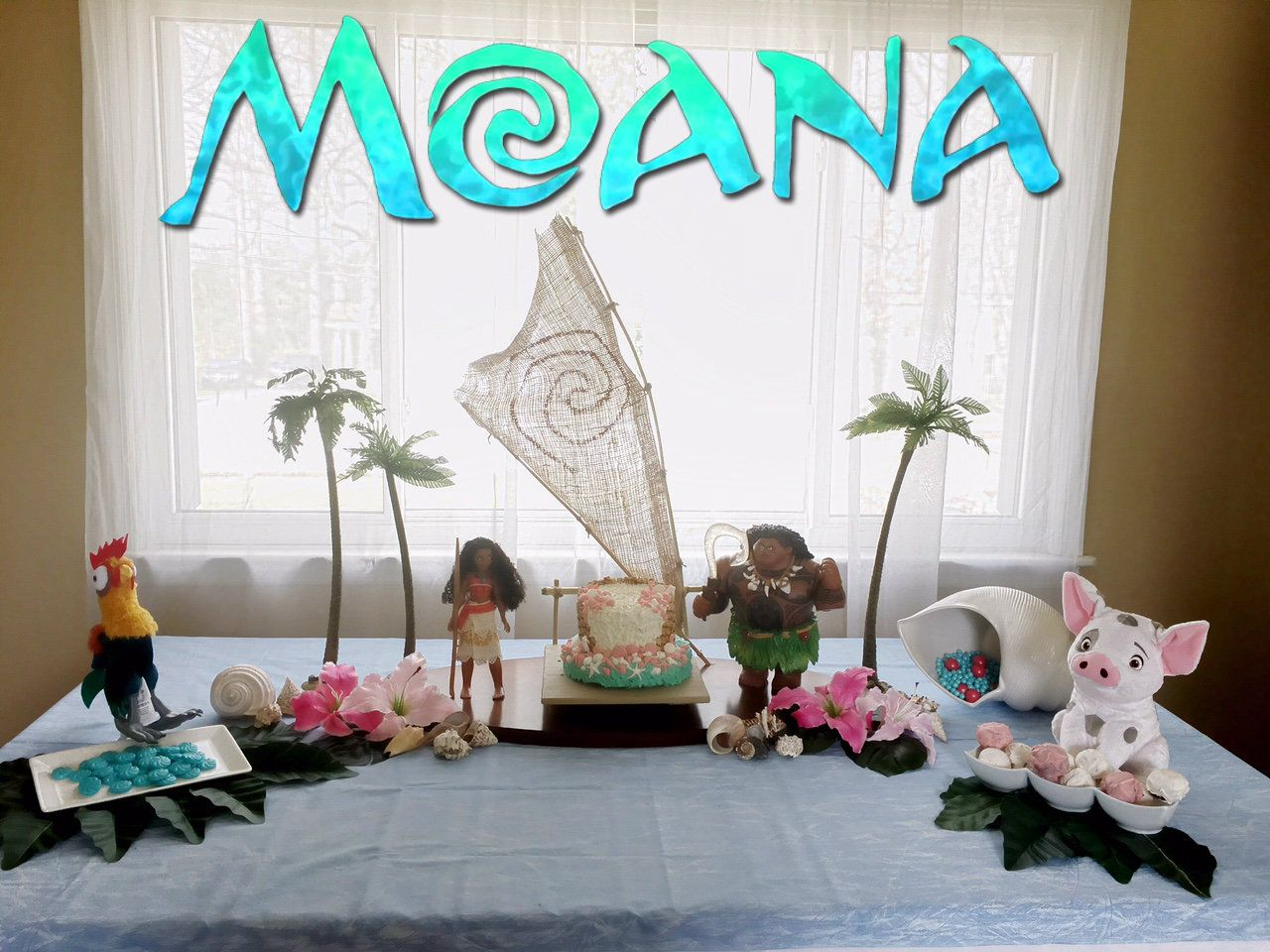 Moana birthday party ideas moana party decoration diy - Ideas diy decoracion ...