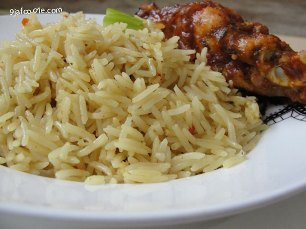 Basmati Coconut Rice Recipe | Coconut rice, Nigerian food ...