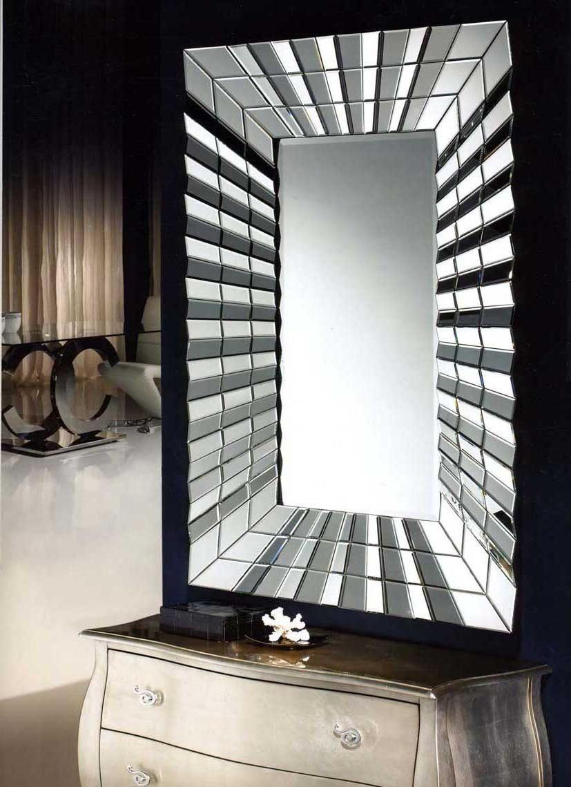 miroir moderne en verre mod le nevada crystal d coration beltran votre magasin de d coration