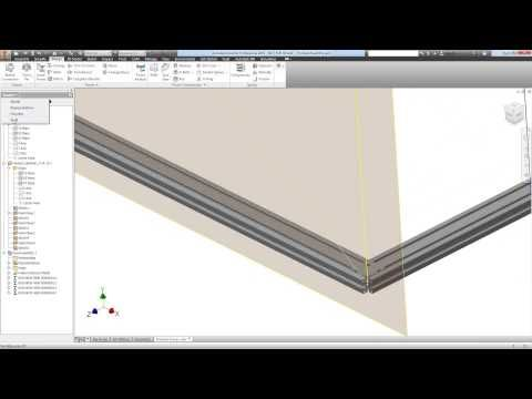 Autodesk Inventor -- Using Custom Sections with Frame Generator ...