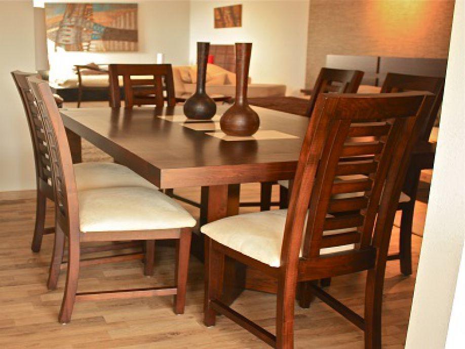 Mesas de marmol para comedor mesa de estilo modernista en for Modelos comedores