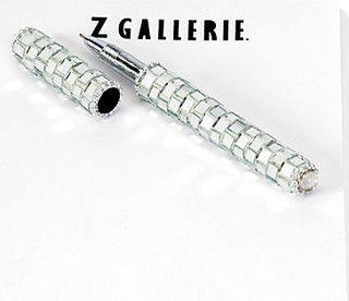 Diamond Mirror Pen - modern - desk accessories - by Z Gallerie